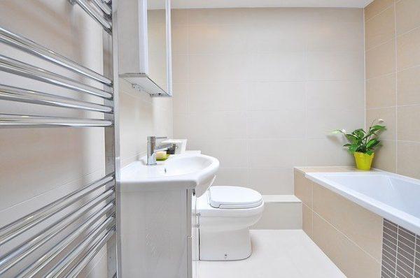 La décoration passe jusqu'à votre salle de bains